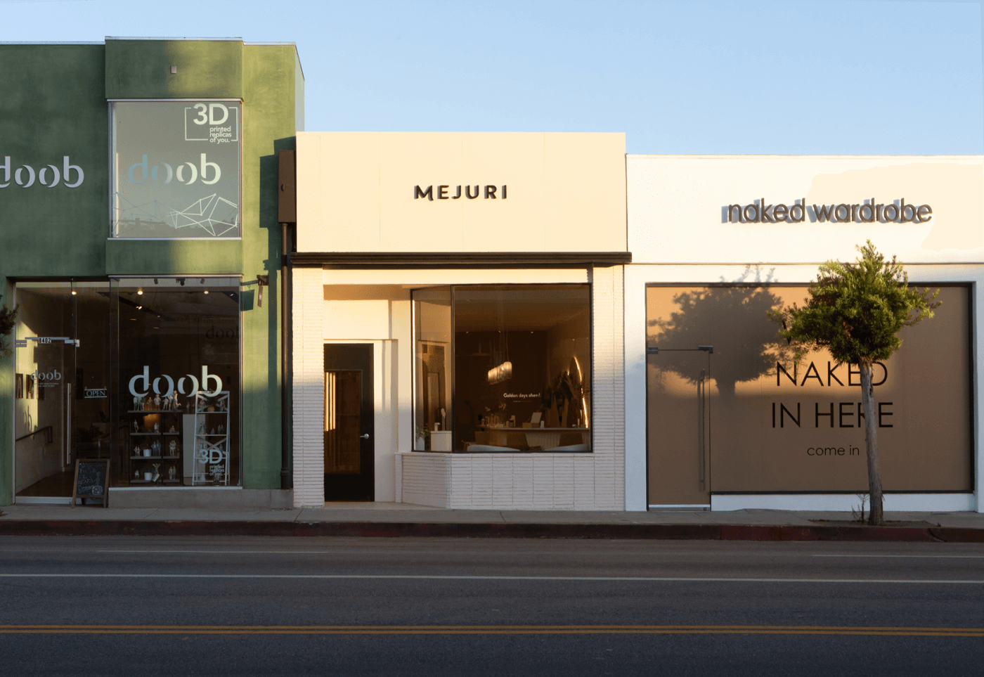 retail store commerical remodel melrose los angeles